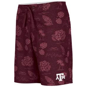 Texas A&M Chiliwear Floral Print Short