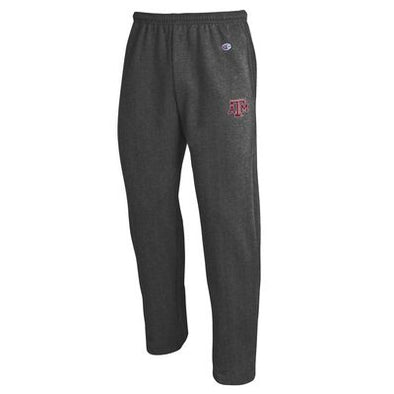 Texas A&M Champion Grey Open Bottom Pant