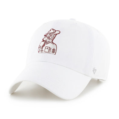 Texas A&M 47 Brand White Sarge Clean Up Hat