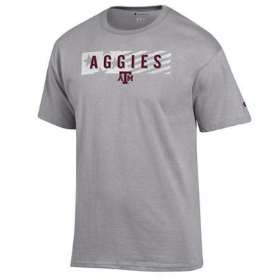 Texas A&M Champion Grey Jersey Tee