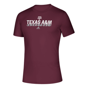 Texas A&M Adidas Basketball Creator Tee