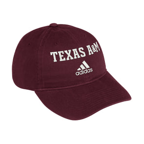 Texas A&M Adidas Men's Maroon Adjustable Cotton Slouch Hat