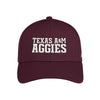 Texas A&M Aggies Adidas Structured Flex Hat