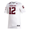 Texas A&M Adidas 2020 White Premiere Football Jersey