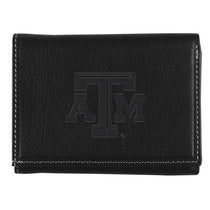 Texas A&M Contrast Stitch Trifold Wallet