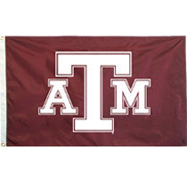 Texas A&M Screen Printed Flag