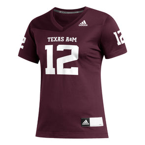 Texas A&M Adidas Women's 2020 Football Jersey