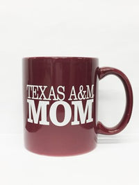 Maroon Texas A&M Mom Mug