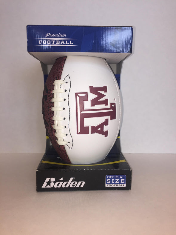 Texas A&M Autograph Football