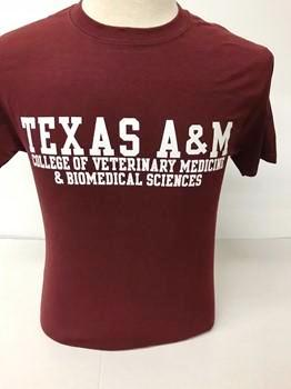 brand new 970ab eacc5 Texas A&M College of Veterinary Medicine & Biomedical Sciences Champion T  Shirt