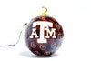Texas A&M Texas Logo Cloisonné Christmas Ornament