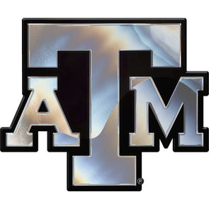 Texas A&M Chrome Emblematic