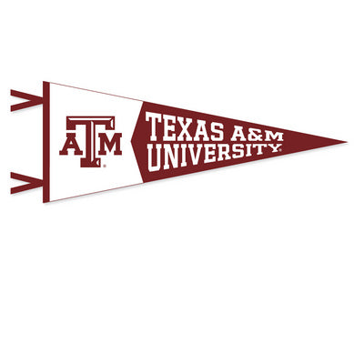 Texas A&M School 12x30 Penant