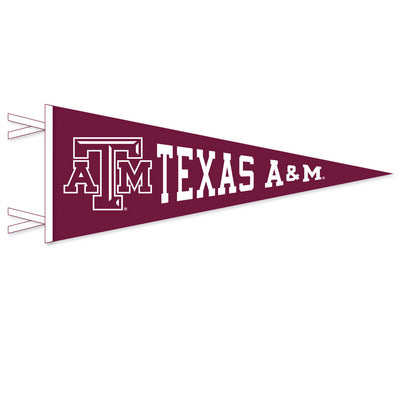 Texas A&M Aggies Multi Color Logo Pennant From Collegiate Pacific