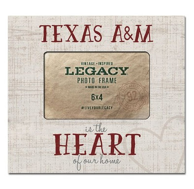 Texas A&M Heart Of Home Picture Frame