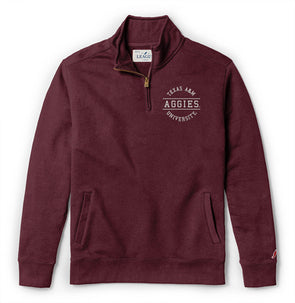 Texas A&M League Men's Stadium Quarter Zip