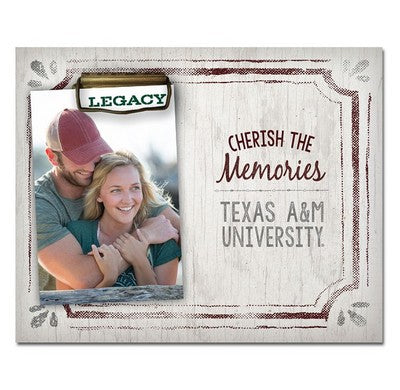 TEXAS A&M CHERISH THE MEMORIES PICTURE FRAME – 12th Man Shop - The ...