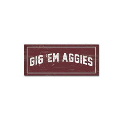 TEXAS A&M TABLETOP PIECE