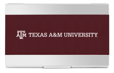 Texas A&M Carbon Fiber Business Card Holder