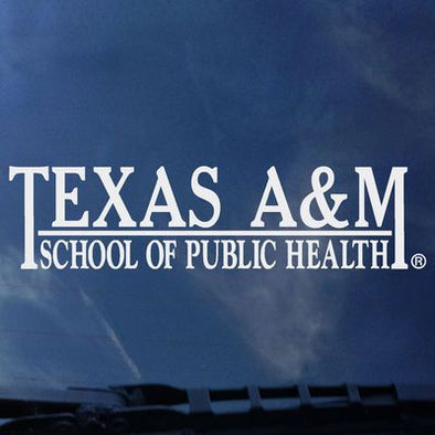 Texas A&M College of Public Health Decal
