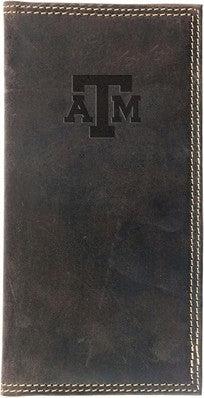 Texas A&M Crazy Horse Long Wallet