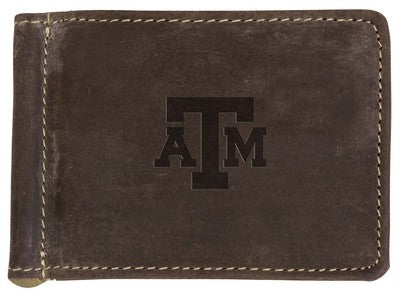 Texas A&M Bryce Canyon Money Clip Wallet