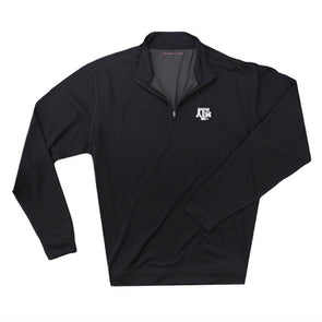The Collection at Texas A&M Loftec Quarter Zip - Black