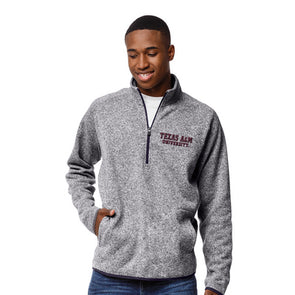 League Saranac Texas A&M Quarter Zip
