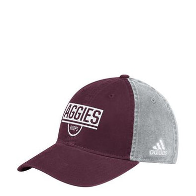 competitive price 902e7 89f27 Texas A M Adidas Adjustable Hat - Mar Grey