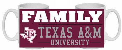 Texas A&M Ceramic Mug Family