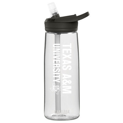 Texas A&M University CamelBak Eddy Plus .75L Water Bottle