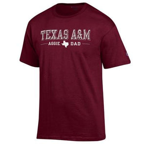 Texas A&M Champion Aggie Dad Jersey Tee