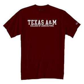 Texas A&M Champion College of Agriculture and Life Sciences Tee