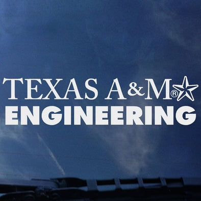 Texas A&M Engineering Decal