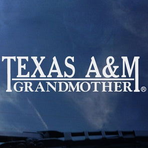 Texas A&M Grandmother Decal