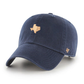 Texas A&M 47 Brand Navy Clean Up Hat