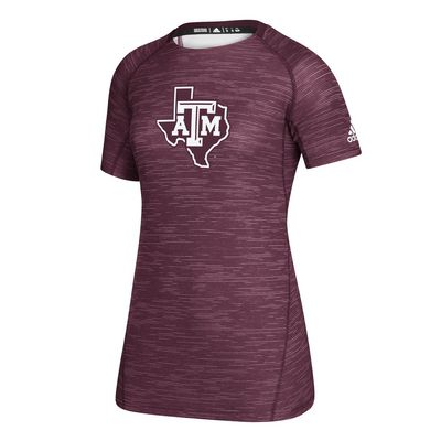 Texas A&M Adidas Women's Training T Shirt