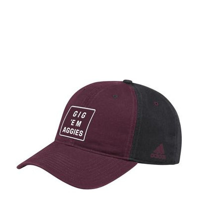 Texas A&M Adidas Men's Cotton Slouch