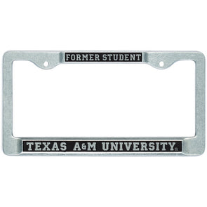 Texas A&M Aggies Former Student License Plate Frame