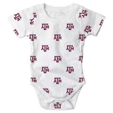 Texas A&M Wes & Willy Infant Bodysuit