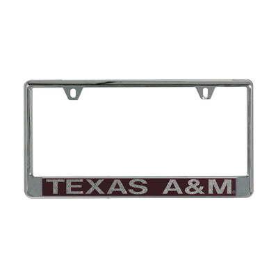 Texas A&m Stockdale Acrylic License Plate Frame