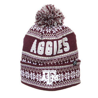 Texas A&M Zephyr Blitzen Knit