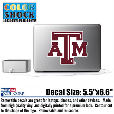 Texas A&M Reusable Decal