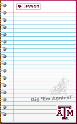 Texas A&M Memo Pad