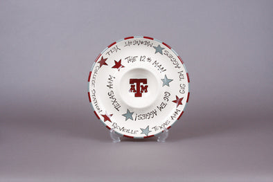 Texas A&M Chip & Dip Bowl