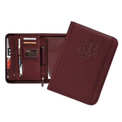 Texas A&M Carolina Sewn Ultrahyde Zip Around Pad Holder