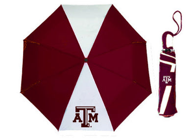 Texas A&M 42 inch Folding Umbrella
