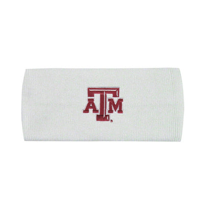 Texas A&M LogoFit Polar Earband - White