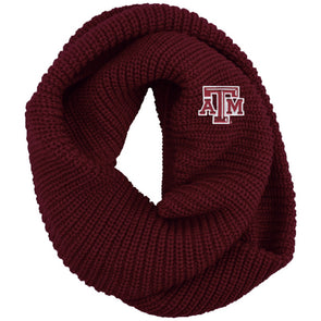 Texas A&M LogoFit Piper Infinity Scarf
