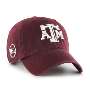 Texas A&M 47 OHT Clean Up Adjustable Cap